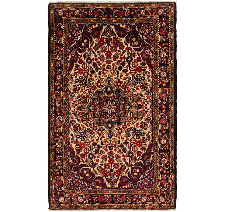 HandKnotted 5' 3 x 8' 7 Bakhtiar Persian Rug