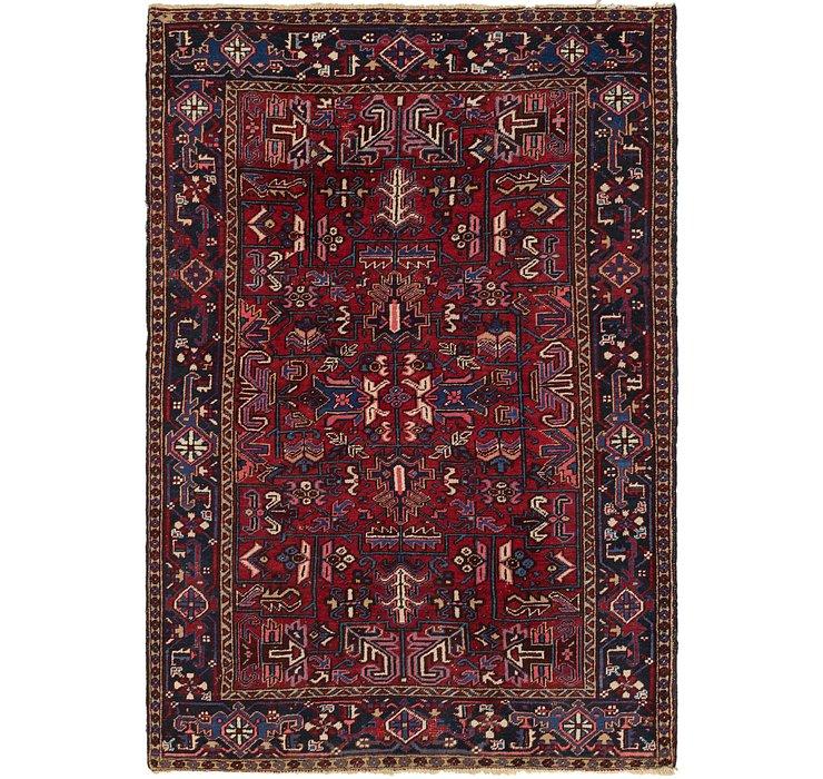 6' 7 x 9' 6 Heriz Persian Rug