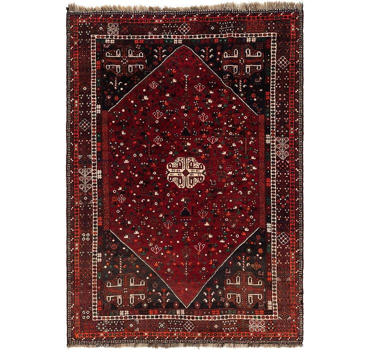 7' 3 x 10' 5 Ghashghaei Persian Rug