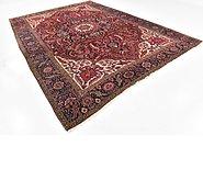Link to 9' 2 x 13' Heriz Persian Rug