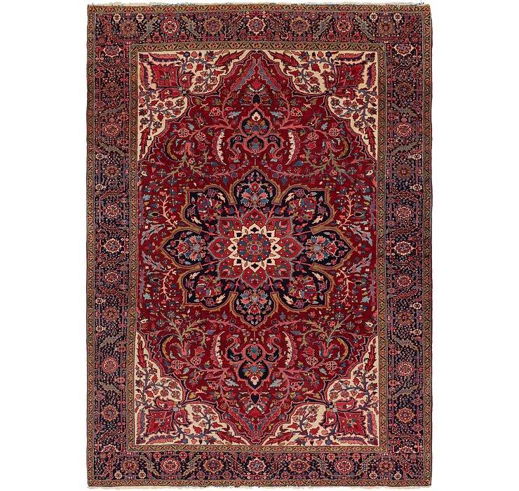 9' 2 x 13' Heriz Persian Rug