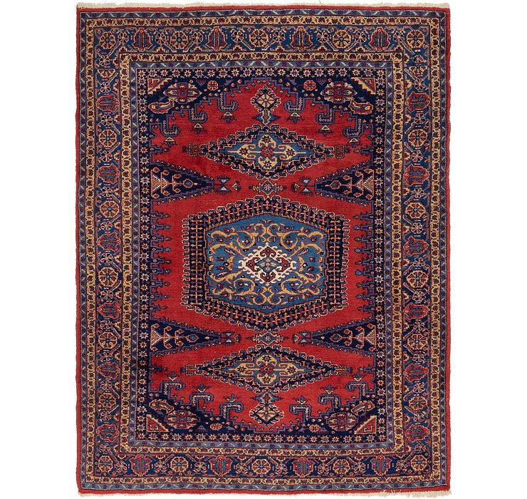 7' 7 x 10' 4 Viss Persian Rug