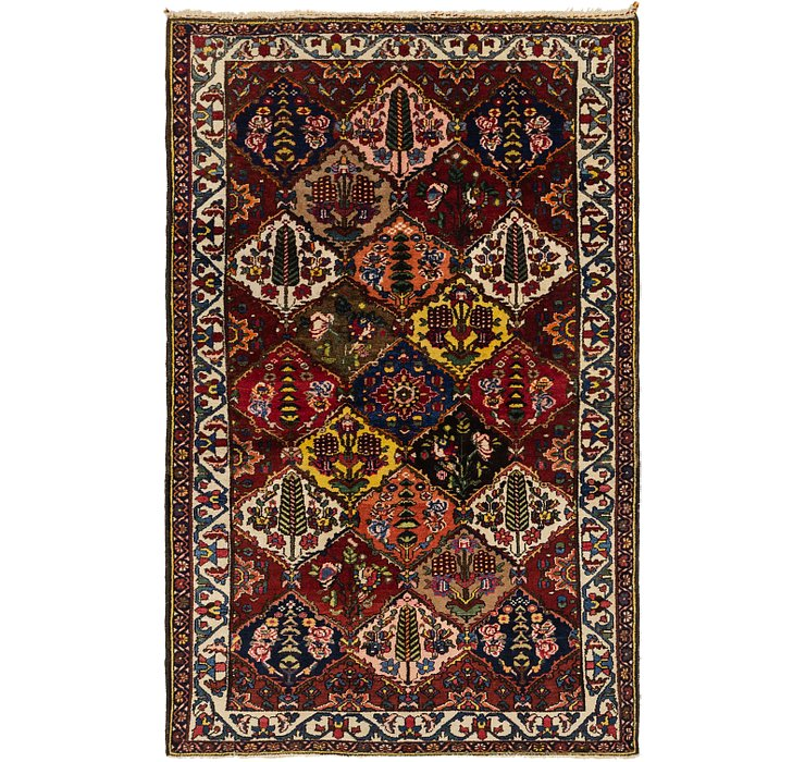 5' 4 x 8' 4 Bakhtiar Persian Rug