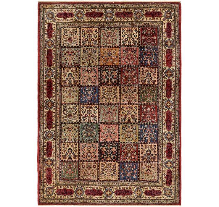7' 2 x 10' 4 Sarough Persian Rug