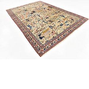 7' 5 x 10' 8 Isfahan Persian Rug