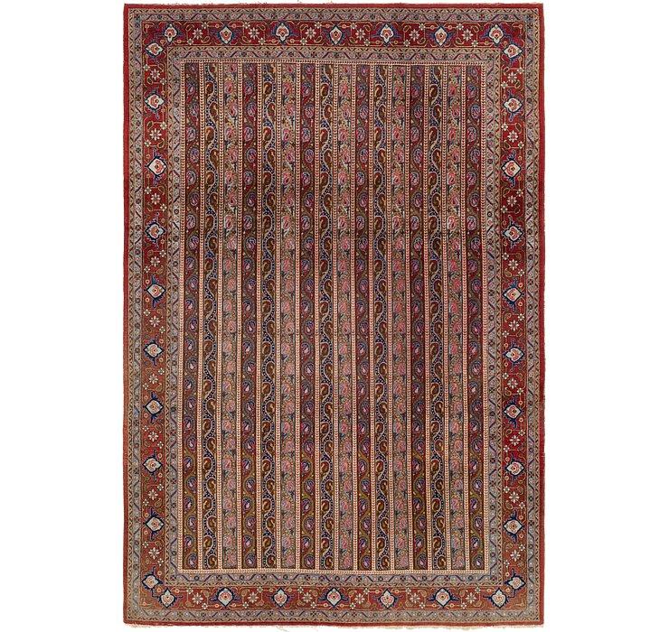7' 5 x 11' Tabriz Persian Rug