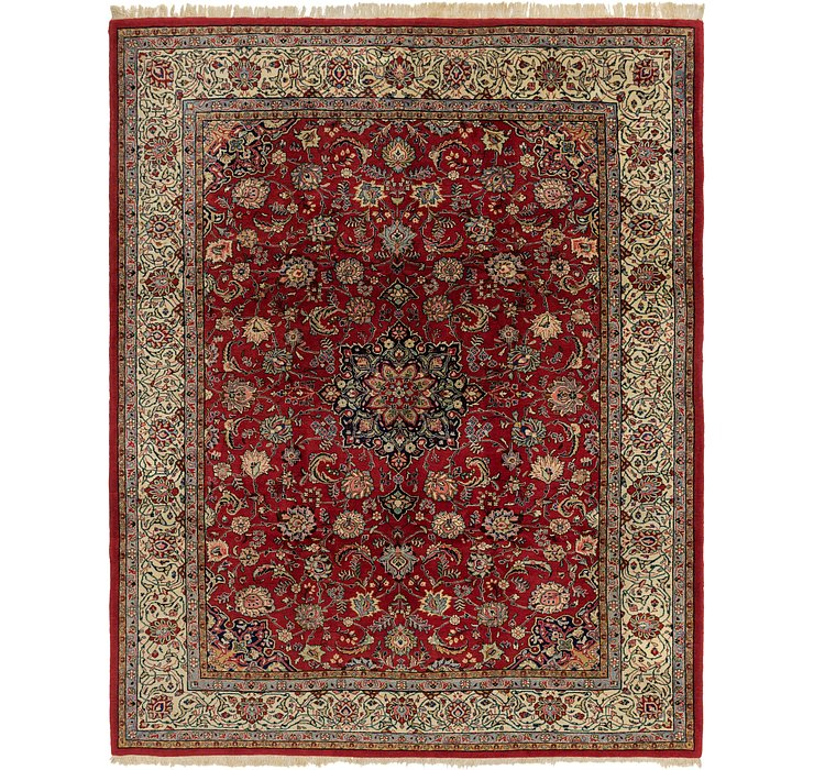 270cm x 355cm Sarough Persian Rug