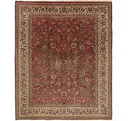 Link to 9' x 11' 6 Meshkabad Persian Rug