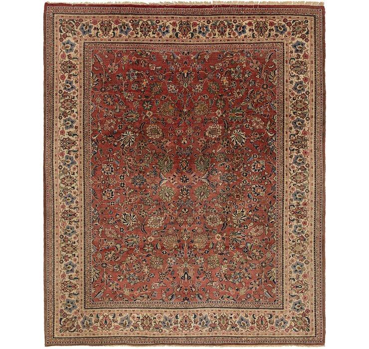 9' x 11' 6 Meshkabad Persian Rug