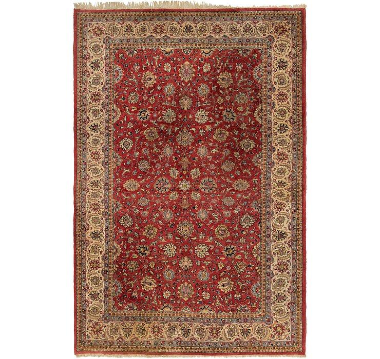 7' 2 x 11' 2 Sarough Persian Rug