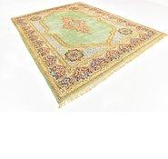Link to 8' 10 x 11' 7 Kerman Persian Rug