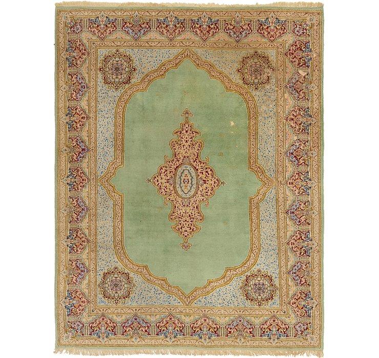 8' 10 x 11' 7 Kerman Persian Rug