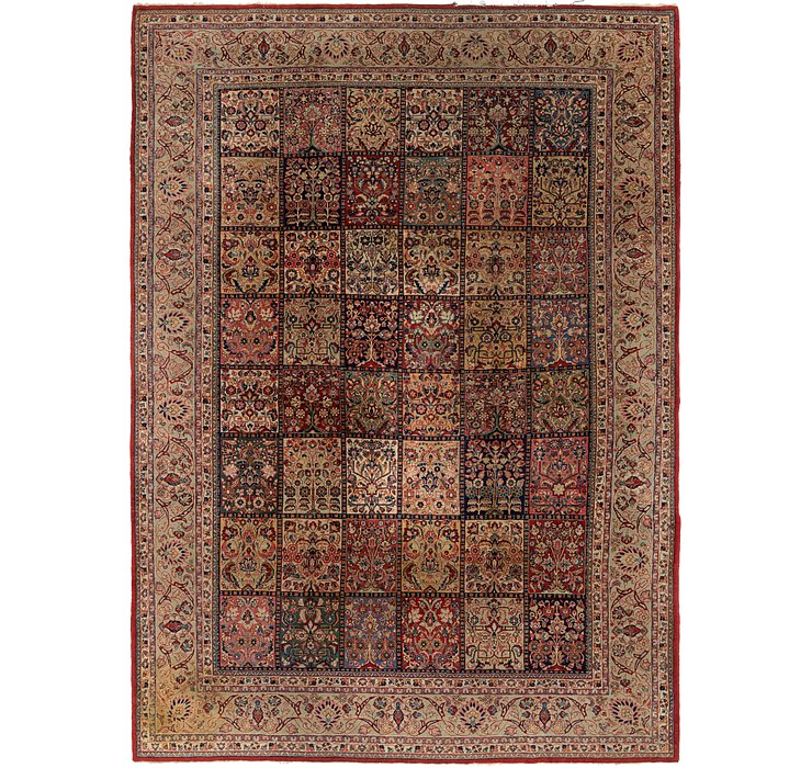 255cm x 355cm Sarough Persian Rug
