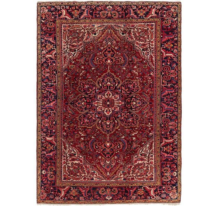 245cm x 345cm Heriz Persian Rug