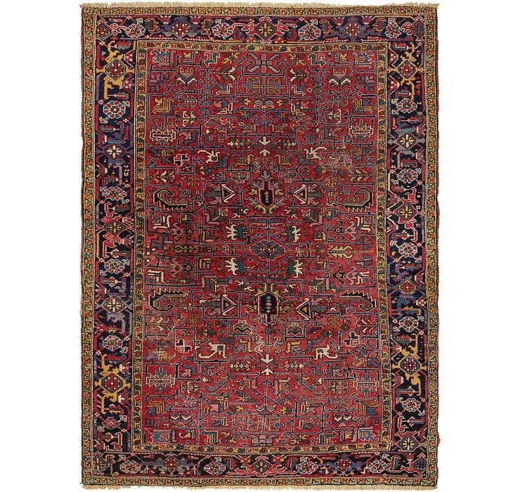 7' 4 x 10' 4 Heriz Persian Rug