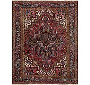 Link to 7' x 9' Heriz Persian Rug