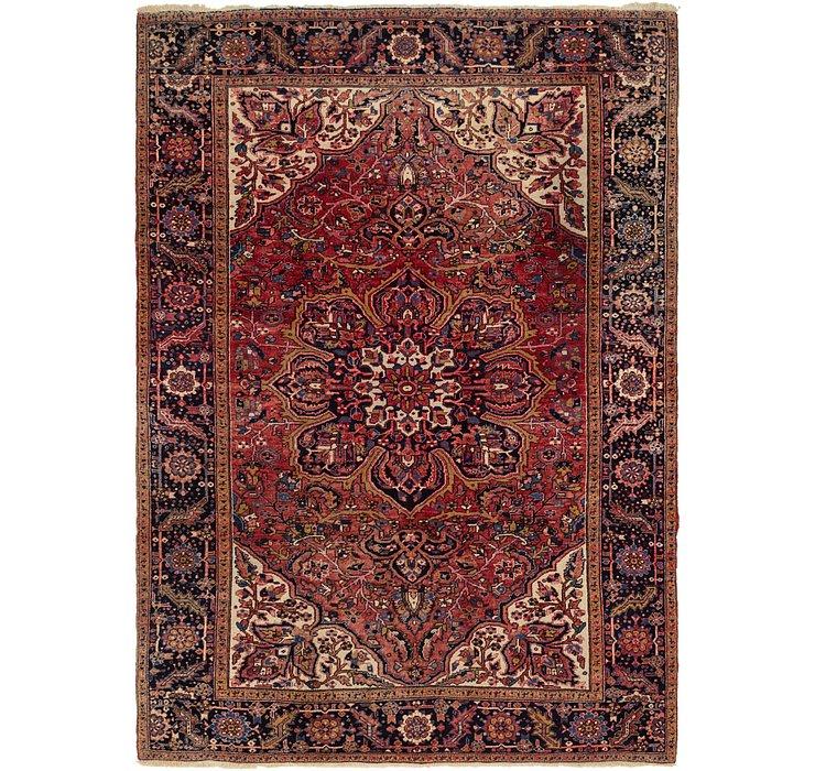 8' 7 x 11' 10 Heriz Persian Rug