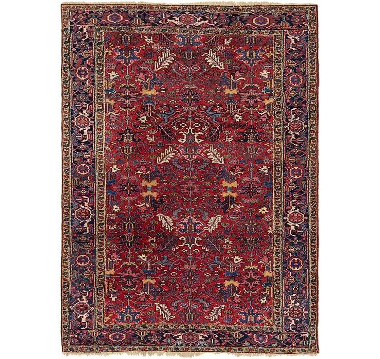 7' 10 x 10' 9 Heriz Persian Rug