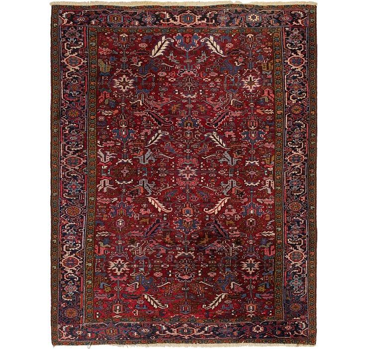 8' 4 x 11' Heriz Persian Rug