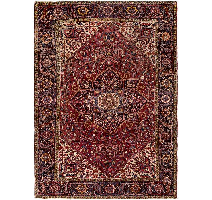 8' 6 x 12' Heriz Persian Rug