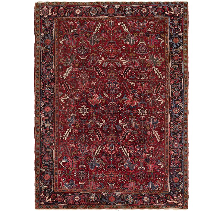7' 9 x 10' 10 Heriz Persian Rug