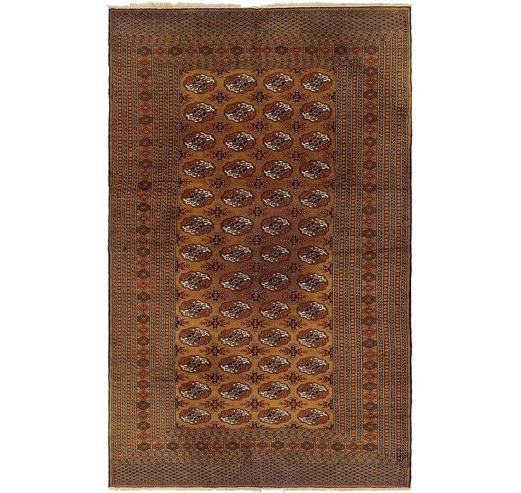 6' 2 x 10' Bokhara Oriental Rug