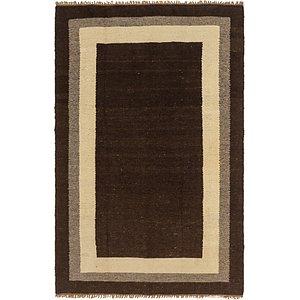Unique Loom 6' 9 x 10' Kilim Dhurrie Rug