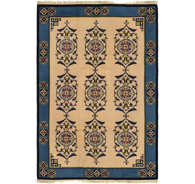 6' 10 x 10' 7 Antique Finish Rug