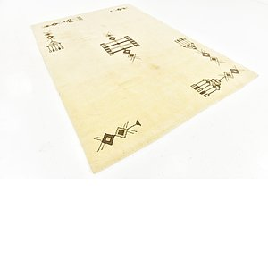 Link to 6' 7 x 9' 7 Moroccan Rug item page