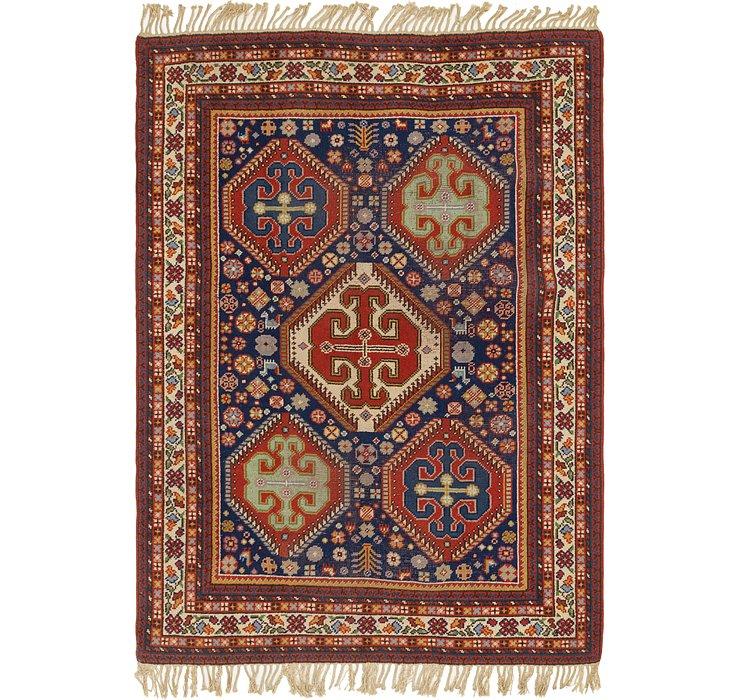 198cm x 275cm Moroccan Rug
