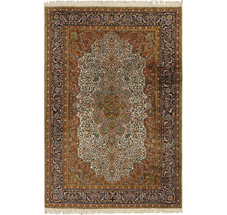 190cm x 282cm Kashmir Oriental Rug