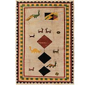 Link to 6' 4 x 9' 6 Shiraz-Gabbeh Rug