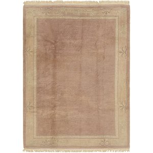 HandKnotted 6' 7 x 9' 4 Nepal Rug