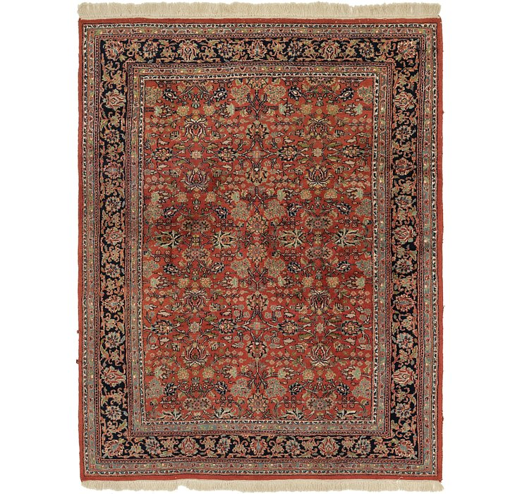 6' 5 x 8' 4 Sarough Rug