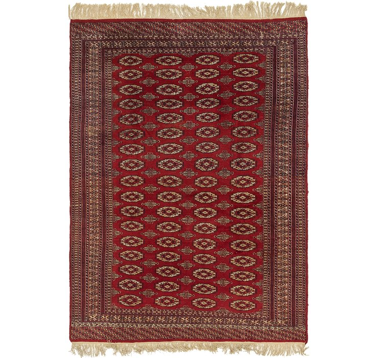 6' x 8' 8 Bokhara Oriental Rug