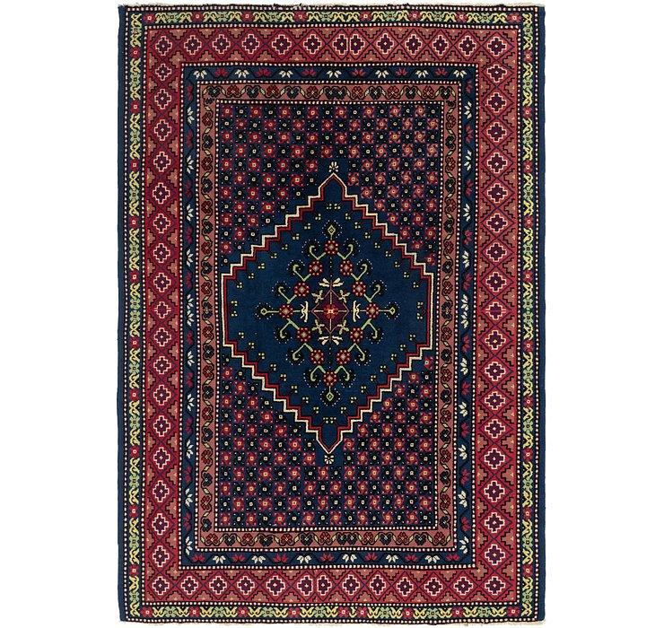 7' x 10' 4 Moroccan Rug