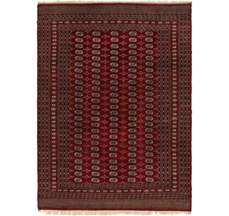 7' 3 x 9' 10 Bokhara Oriental Rug