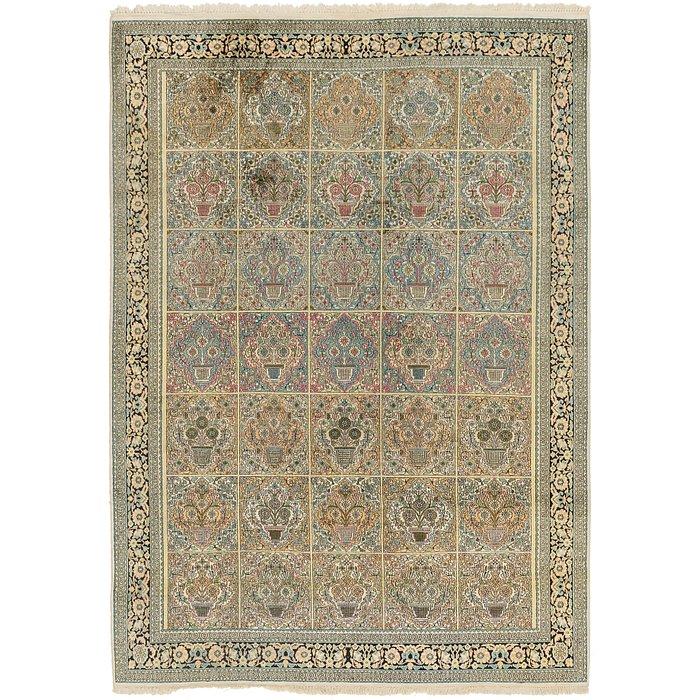 7' 2 x 10' 2 Kashmir Oriental Rug