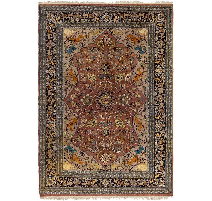 8' 10 x 12' 8 Tabriz Oriental Rug