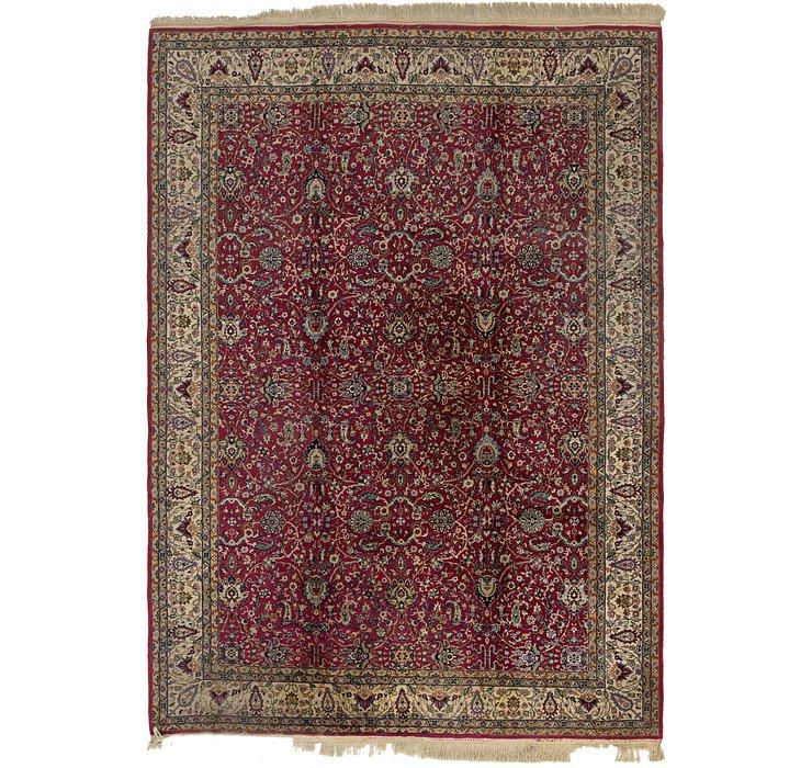 8' 5 x 11' 6 Kashan Oriental Rug