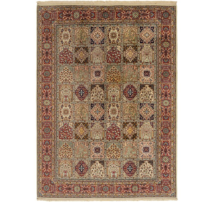 8' 3 x 11' 9 Sarough Oriental Rug