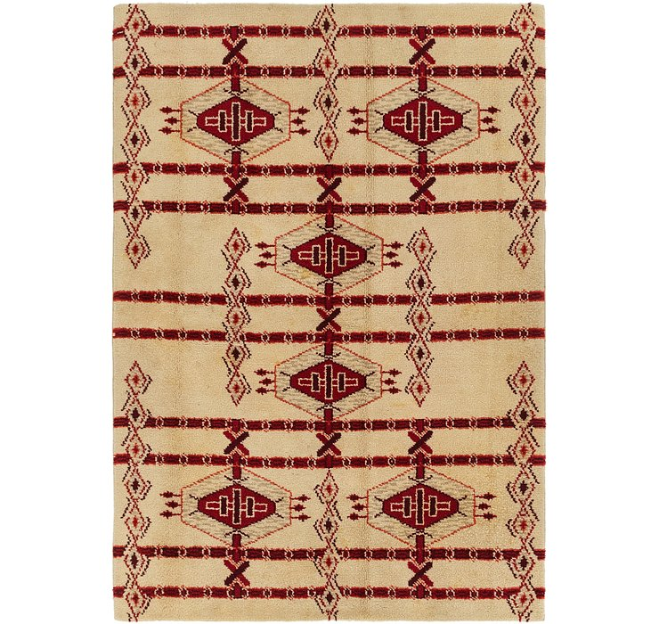 6' 5 x 9' Moroccan Rug