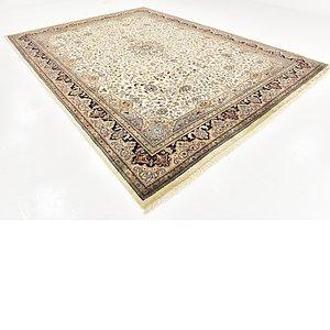 Link to 9' 6 x 13' 3 Tabriz Oriental Rug item page