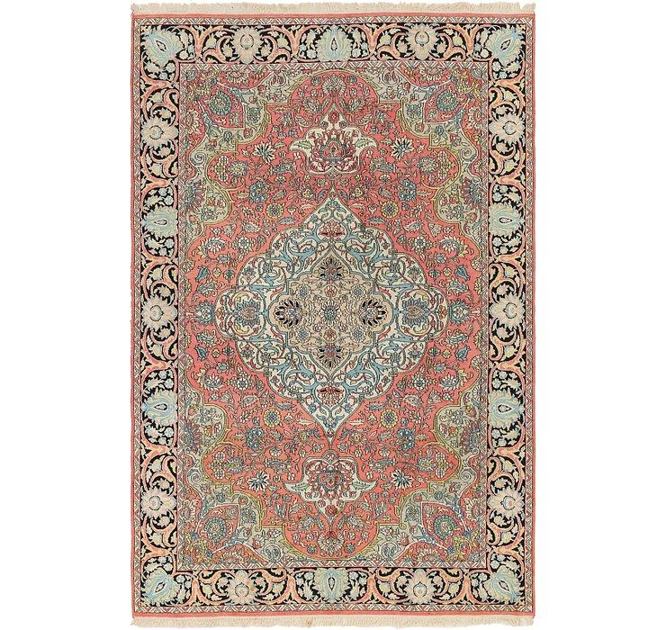 6' x 9' 2 Kashmir Oriental Rug