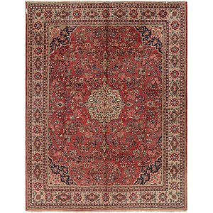 HandKnotted 10' 6 x 14' Sarough Persian Rug