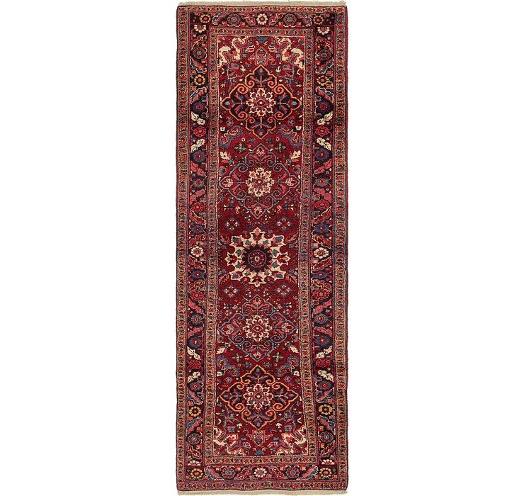 3' 8 x 11' 2 Heriz Persian Runner Rug