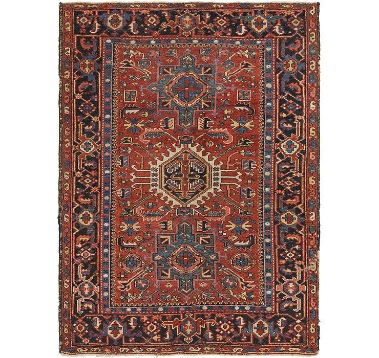 140cm x 188cm Gharajeh Persian Rug