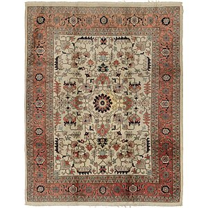 Link to 8' 3 x 10' 5 Tabriz Rug item page