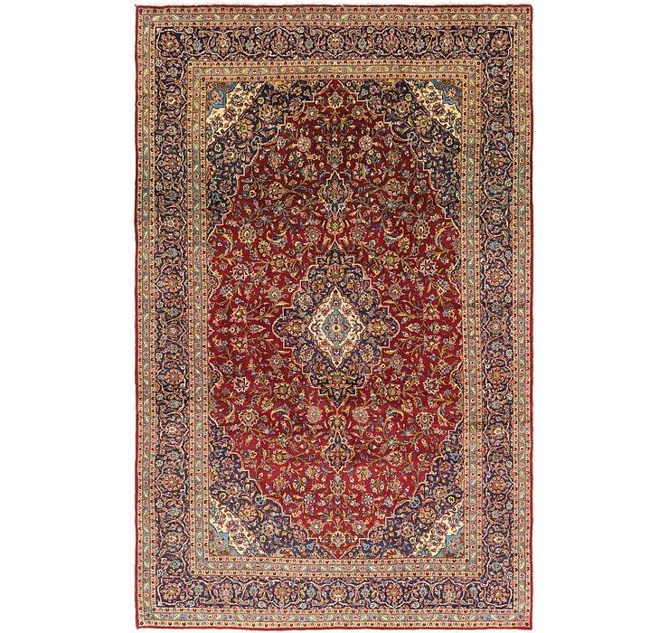 9' 9 x 15' 5 Kashan Persian Rug
