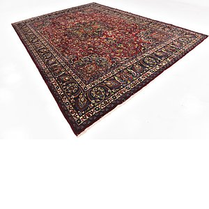 Link to 290cm x 405cm Mashad Persian Rug item page